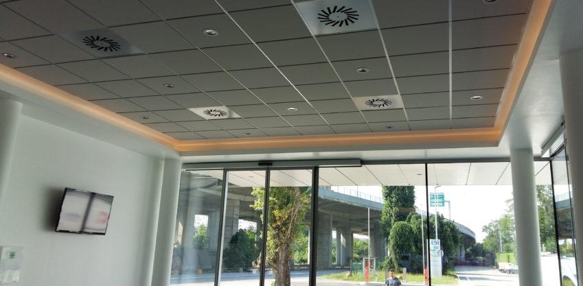 Realizzazione nuova portineria Cesi - Milano