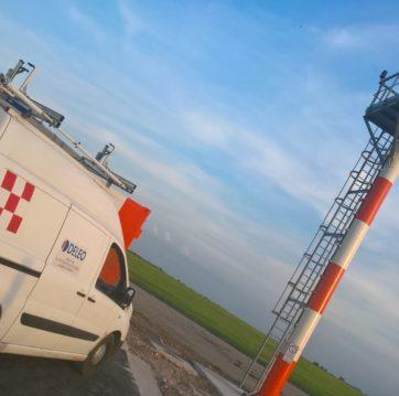 Installazione sistema TACAN - Aeroporto Amendola (FG)